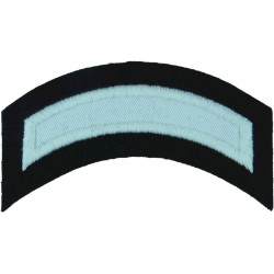 Royal Navy Officer Cadet White Shoulder Title Curved  Embroidered Naval Branch, rank or miscellaneous insignia