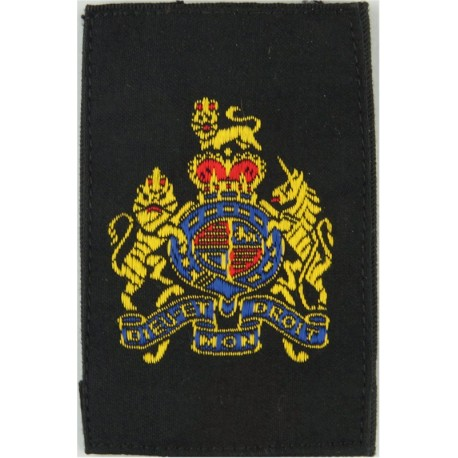 RFA (Royal Fleet Auxiliary) Deck Rating Gold On Black  Lurex Naval Branch, rank or miscellaneous insignia