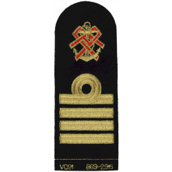 QARNNS Captain Tippet (Nursing Cape) Rank Badge Post-1995  Lurex Naval Branch, rank or miscellaneous insignia