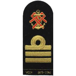 QARNNS Commander Tippet (Nursing Cape) Rank Badge Post-1995  Lurex Naval Branch, rank or miscellaneous insignia