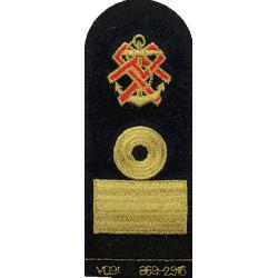 QARNNS Commodore Tippet (Nursing Cape) Rank Badge Post-1995  Lurex Naval Branch, rank or miscellaneous insignia