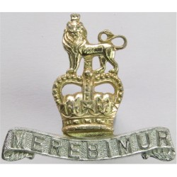 15th/19th King's Royal Hussars FL - Pre-01 Dec 1992 with Queen Elizabeth's Crown. Anodised Staybrite collar badge