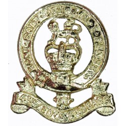 14th/20th King's Hussars FL with Queen Elizabeth's Crown. Anodised Staybrite collar badge