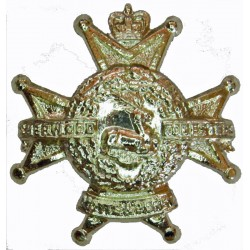 Ministry Of Defence Security  (Crown) Gold Colour with Queen Elizabeth's Crown. Anodised Staybrite collar badge