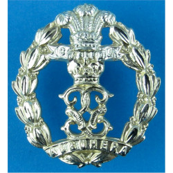 Royal New Zealand Signals FR Anodised Staybrite collar badge