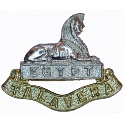 Royal Signals FL  Anodised Staybrite collar badge