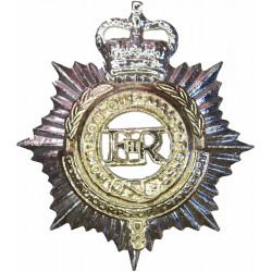 Royal Corps of Transport 1965-1993 with Queen Elizabeth's Crown. Anodised Staybrite collar badge