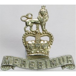 15th/19th King's Royal Hussars FR - Pre-01 Dec 1992 with Queen Elizabeth's Crown. Anodised Staybrite collar badge