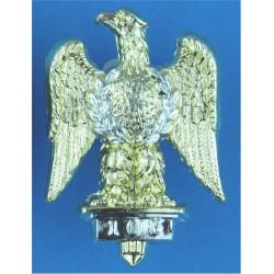 Royal Dragoons (1st Dragoons) FL - Eagle  Anodised Staybrite collar badge