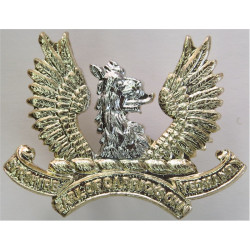 Ayrshire Yeomanry (Earl Of Carrick's Own) FR  Anodised Staybrite collar badge