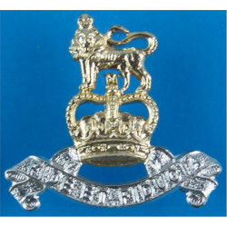 Royal Army Pay Corps FL - 1952-1993 with Queen Elizabeth's Crown. Anodised Staybrite collar badge