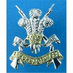 3rd Carabiniers (Prince Of Wales's Dragoon Guards) 29mm High  Anodised Staybrite collar badge