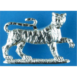 Royal Gloucestershire Hussars Anodised Staybrite collar badge