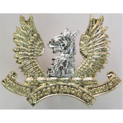 Ayrshire Yeomanry (Earl Of Carrick's Own) FL  Anodised Staybrite collar badge