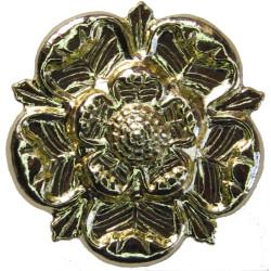 East Lancashire Regiment (Rose) - Rare Not Part Of CG S/T  Anodised Staybrite collar badge