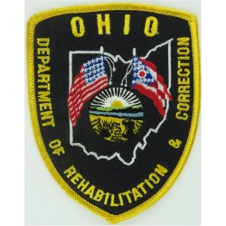 USA: Pennsylvania: Erie County Dept Of Corrections Arm Badge Embroidered Overseas Police, Prison or Corrections insignia
