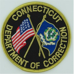USA: Pennsylvania: Allegheny County Corrections Arm Badge Embroidered Overseas Police, Prison or Corrections insignia