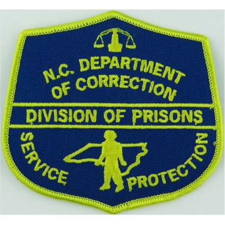 USA: Illinois: Cook County Sheriff Correctional Dept Arm Badge Embroidered Overseas Police, Prison or Corrections insignia