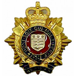 Chile Marine Comandos Bronze Officers' collar badge