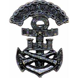 Chile Marine Comandos   Bronze Officers' collar badge