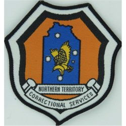 Australia: Northern Territory Correctional Services Arm Badge  Woven Overseas Police, Prison or Corrections insignia