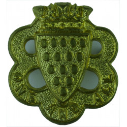 Duke Of Cornwall's Light Infantry - 1884-1932 'One And All'  Brass Other Ranks' collar badge