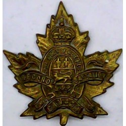 Cameronians (Scottish Rifles) Mouthpiece FR  Blackened Other Ranks' collar badge