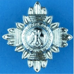 Nigeria Police Rank Star - Eagle FL 18.5mm Side  Chrome-plated Overseas Police, Prison or Corrections insignia