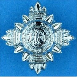 Nigeria Police Rank Star - Eagle FR 21mm Side  Chrome-plated Overseas Police, Prison or Corrections insignia