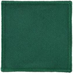 16 Air Assault Brigade - Parachute Regiment - 3rd Bn Green Square  Woven Parachute DZ (Drop-Zone) Patch