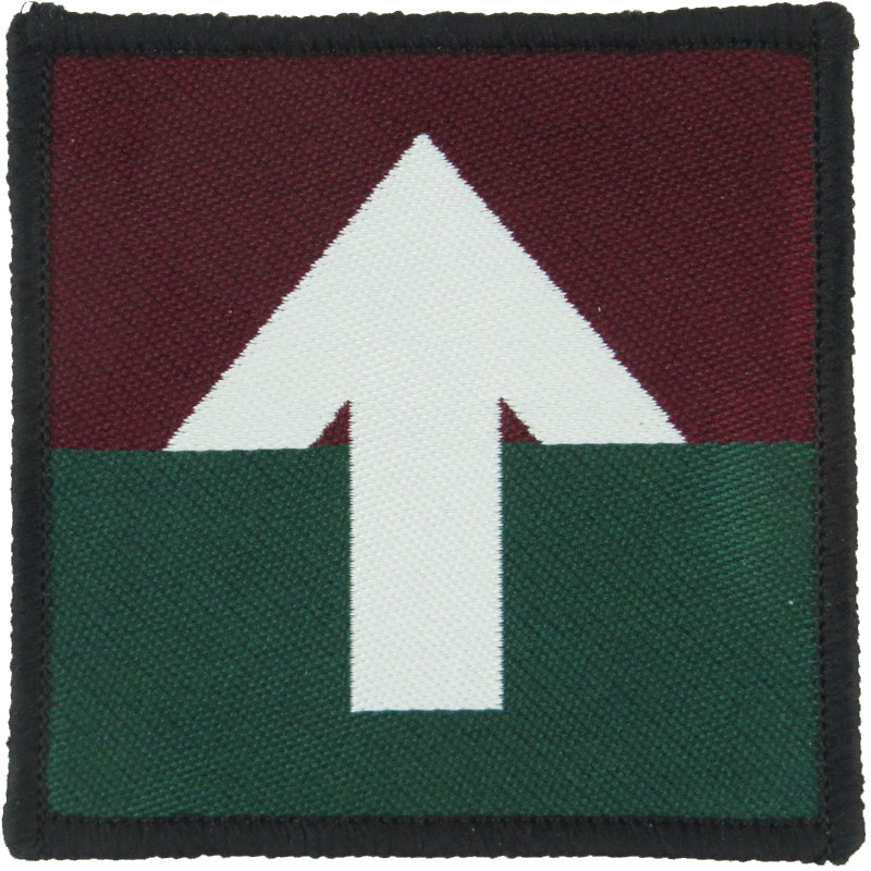 Us Army Parachute Rigger Cut To Shape On Black Parachute