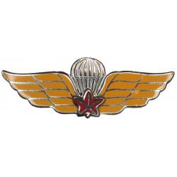 Canada Dual Qualification Wings   Enamel Parachute jump wings or badge