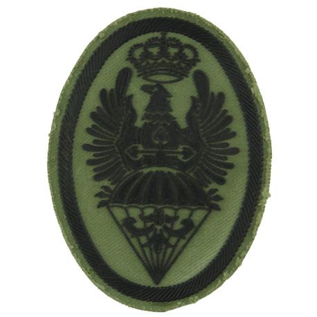 Spain - BRIPAC - Airborne Brigade - Parachute/ Eagle Current - Subdued  Rubberised Airborne or Special Forces insignia