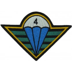 Czech Republic 4th Rapid Reaction Brigade   Embroidered Airborne or Special Forces insignia