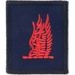24 Airmobile Brigade HQ & Signal Squadron Red Wings On Blue  Embroidered Military Formation arm badge