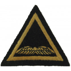 Air Formation Signals (White Wings In Triangle) On Dark Blue Backing  Embroidered Military Formation arm badge