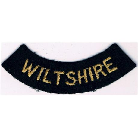 Civil Defence Rank Badge - 6-Pointed Star Yellow On Dark Blue  Braid Civil Defence