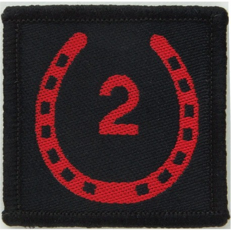 101 Logistic Brigade (Black Adder) - Black Edge FR - Black On Olive  Woven Military Formation arm badge