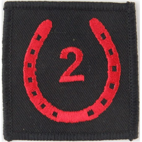 8th Anti-Aircraft Division (Black Plane, Red Star On Light Blue Square) Woven Military Formation arm badge