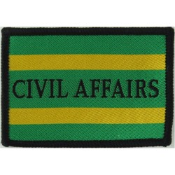 Civil Affairs Group   Woven Military Formation arm badge