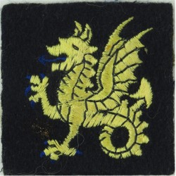 104 Logistic Support Brigade (Timber Wolf) Colour Woven Military Formation arm badge