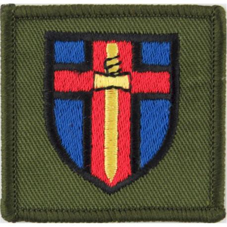 New Zealand ISAF  Task Group Kea Military Formation Arm Badge