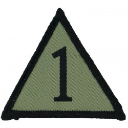 4th Infantry Division Colour  Embroidered US Army shoulder sleeve insignia - SSI