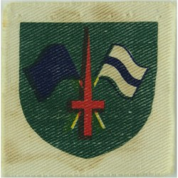 1st Armored Division 'Old Ironsides' Subdued - On Olive  Embroidered US Army shoulder sleeve insignia - SSI