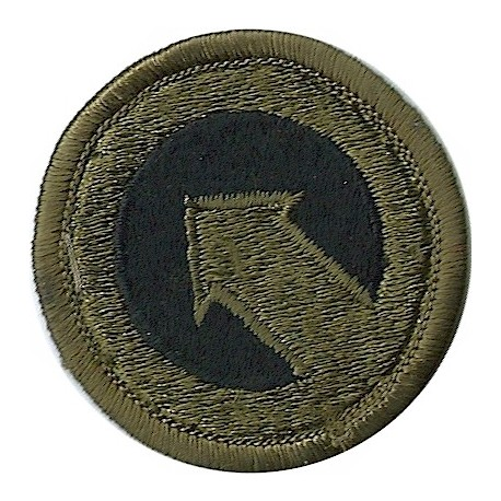 1st Logistic Command Subdued  Embroidered US Army shoulder sleeve insignia - SSI