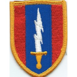 1st Signal Brigade Colour  Embroidered US Army shoulder sleeve insignia - SSI