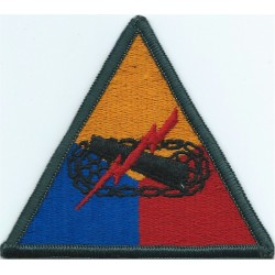 11th Armored Cavalry Regiment Subdued Embroidered US Army shoulder sleeve insignia - SSI