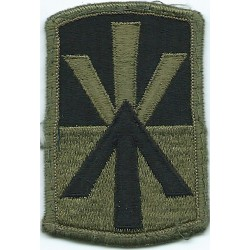 11th Air Defence Artillery Brigade Subdued  Embroidered US Army shoulder sleeve insignia - SSI