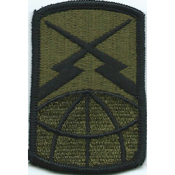 160th Signal Brigade Subdued  Embroidered US Army shoulder sleeve insignia - SSI