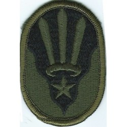 7th Signal Brigade Subdued Embroidered US Army shoulder sleeve insignia - SSI